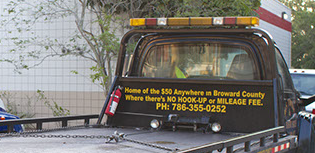 $50 towing Anywhere in Broward County